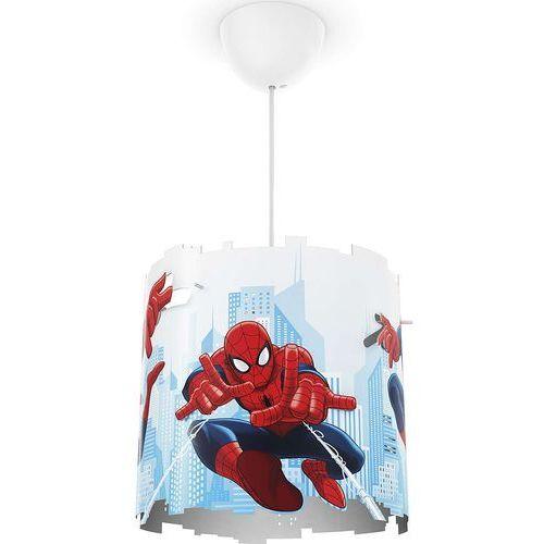 71751/40/16 - lampa wisząca dziecięca disney spider-man 1xe27/23w/230v marki Philips