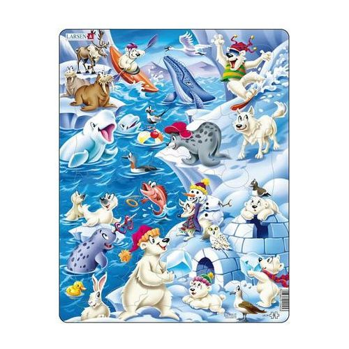 Neuveden Puzzle maxi - arktický ledový život/36 dílků