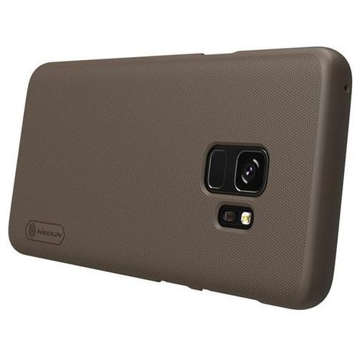 Etui Nillkin Frosted Shield Samsung Galaxy S9 - Brown - Brown (6902048153721)