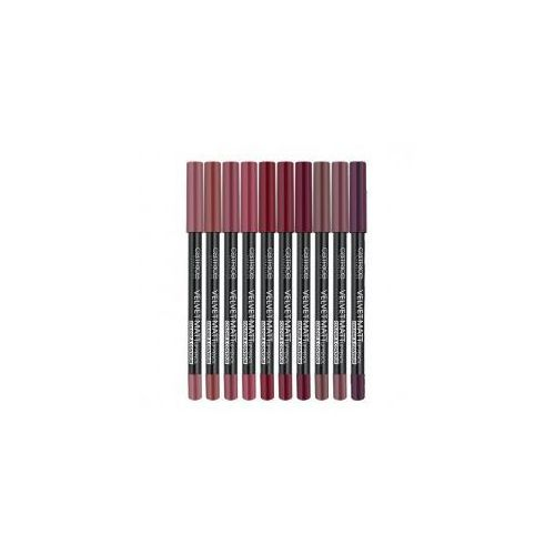 Catrice , velvet matt lip pencil colour & contour, kredka do ust
