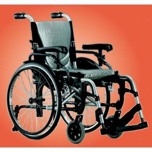 Wózek inwalidzki aluminiowy KARMA S-ERGO 305 silve - oferta (952a602c05d53327)