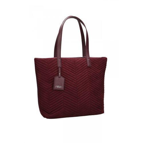 bc3d8cc39411c Klasyczna torba ze skóry ekologicznej - marki Nobo 219,00 zł tradycyjna  torebka od firmy Nobo. Model wytworzono ze skóry naturalnej. Jednokomorowa  i pojemna ...