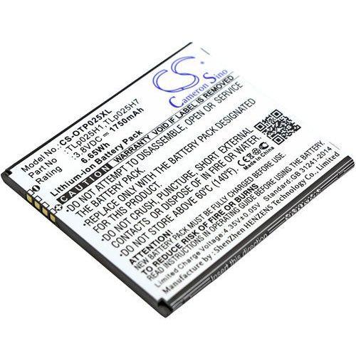 Alcatel One Touch POP 4 / TLp025H1 1750mAh 6.65Wh Li-Ion 3.8V (Cameron Sino) (4894128128946)