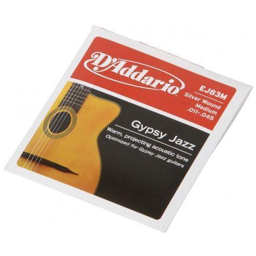 ej-83m struny do gitary akustycznej gypsy jazz 11-45 marki D′addario