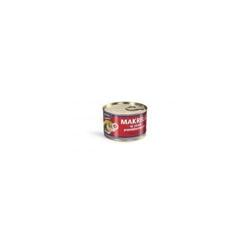 Łosoś Makrela w sosie pomidorowym 250 g ustka