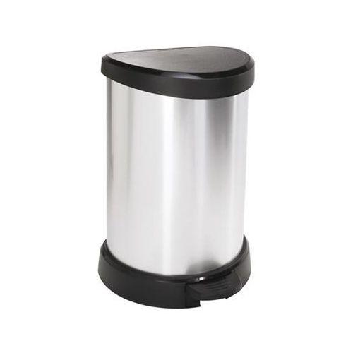 Kosz na śmieci 20 l (metalizowany) Curver