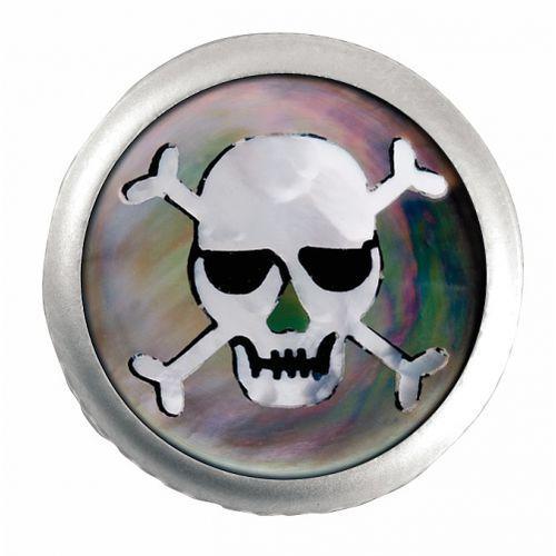 Warwick Regler Knopf, rund 6mm, Skull SC gałka potencjometru, round 6mm, Skull SC