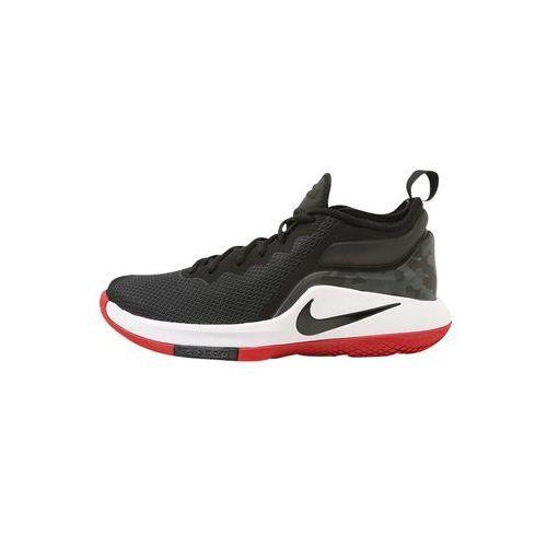 Nike Performance LEBRON WITNESS II Obuwie do koszykówki black/white/gym red