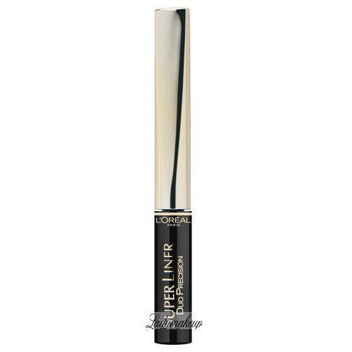L'oreal L'oréal - super liner duo precision - precyzyjny i długotrwały liner do kresek - black