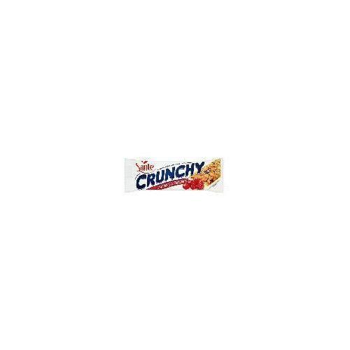 Baton Crunchy zbożowy musli z owocami żurawiny i maliny 40 g Sante