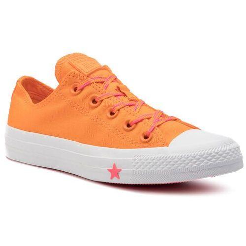 Converse Trampki - ctas ox 564115c orange rind/racer pink/white
