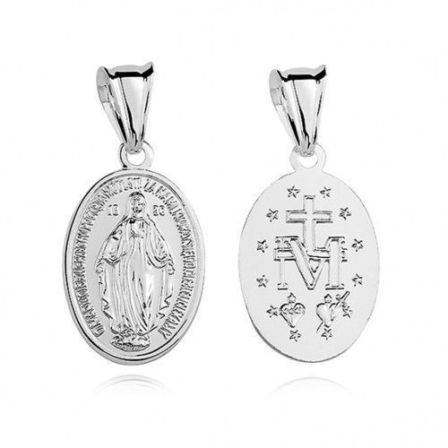 Cudowny medalik z Matką Bożą, M164