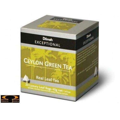 Dilmah 20szt. exceptional herbata cejlońska zielona (9312631140347)