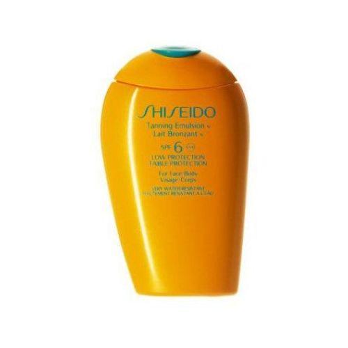 Shiseido tanning emulsion spf6 (w) samoopalacz do ciała i twarzy 150ml