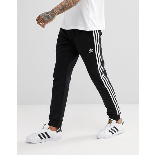 adidas Originals Superstar Skinny joggers cuffed in black cw1275 - Black, w 5 rozmiarach