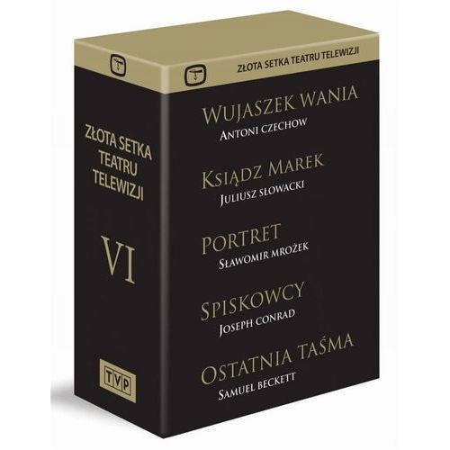 Złota Setka Teatru Telewizji VI. Kolekcja (Płyta DVD)