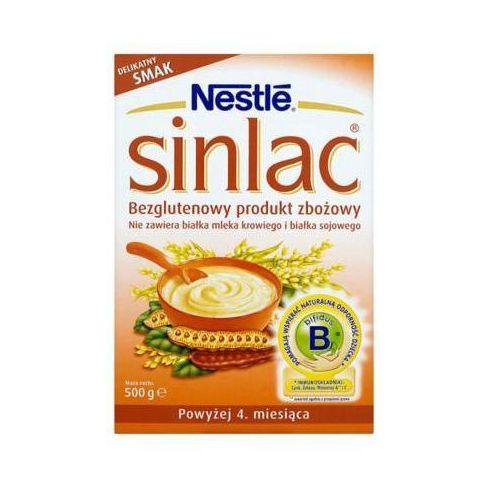 500g sinlac bezglutenowy produkt zbożowy po 4 miesiącu marki Nestle