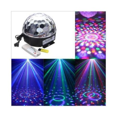 Ledowa kula dyskotekowa disco + pilot + muzyka + mp3 + usb... marki S.t.i. ltd.