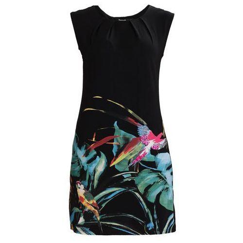Desigual VEST CALYPSO Sukienka z dżerseju black, 18SWVK32