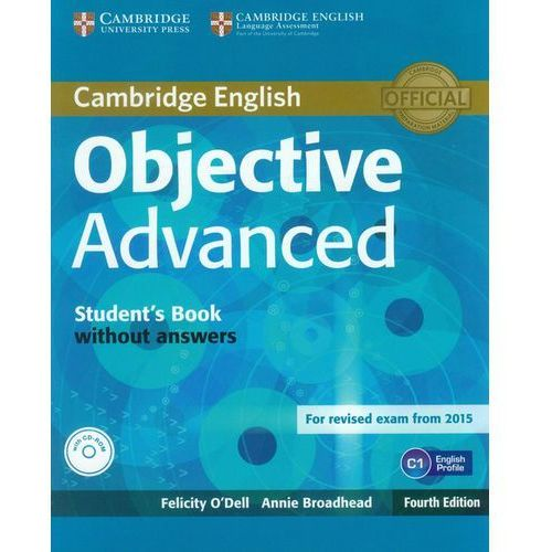 Objective Advanced Student's Book without Answers with CD-RO, Cambridge University Press