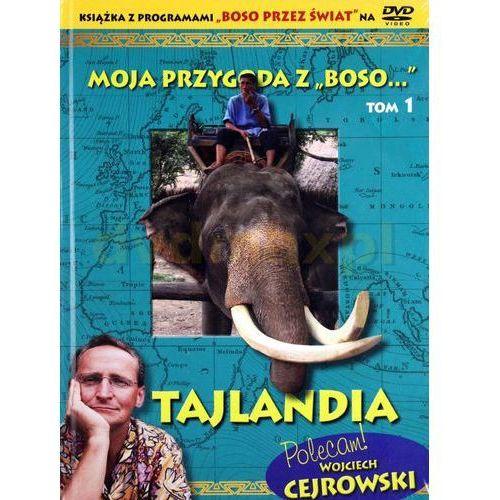 """Moja przygoda z """"Boso...` Tom 1. Tajlandia (książka + DVD) - Sławomir Makaruk (9788377695906)"""