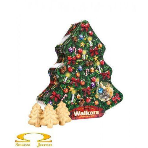 Ciasteczka Maślane Walkers Pure Butter Shortbread Puszka Choinka 225g