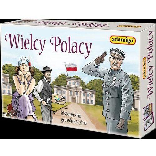 Gra wielcy polacy - darmowa dostawa od 199 zł!!! marki Adamigo