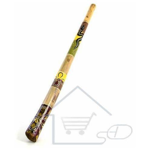 Didgeridoo dęty instrument ręcznie malowany 30 cm marki 1