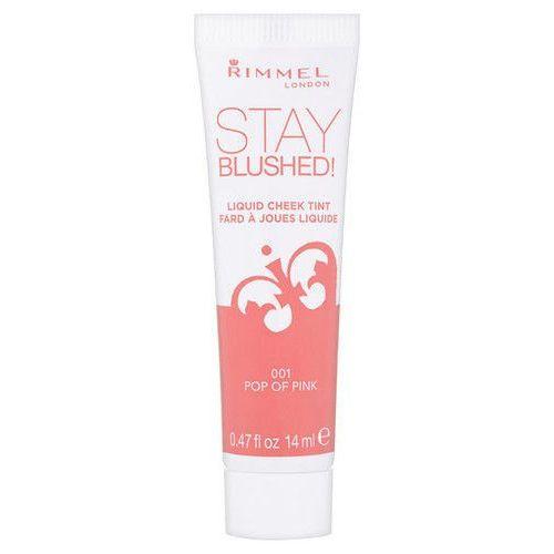Stay Blushed Liquid Cheek Tint 14ml W Róż 002 Touch Of Berry, Rimmel London