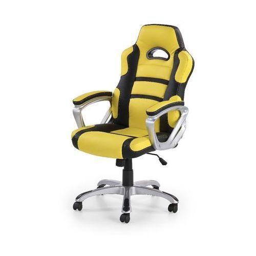 Style furniture Apis fotel gamingowy dla graczy żółto-czarny