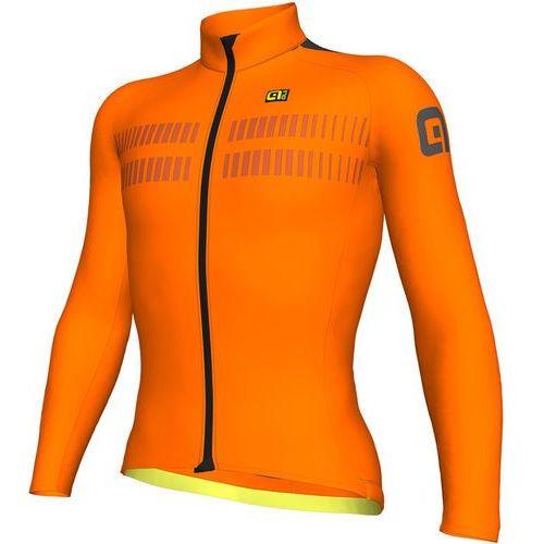 Alé cycling prr clima protection 2.0 warm air koszulka kolarska, długi rękaw mężczyźni pomarańczowy xxl 2018 koszulki kolarskie
