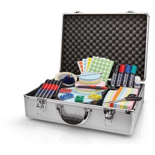 Holtz Solidna walizka do prezentacji z aluminium,wys. x szer. x głęb. 340 x 470 x 165 mm