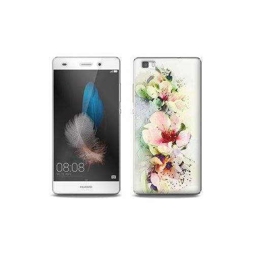 Huawei P8 Lite - etui na telefon Full Body Slim Fantastic - róże herbaciane