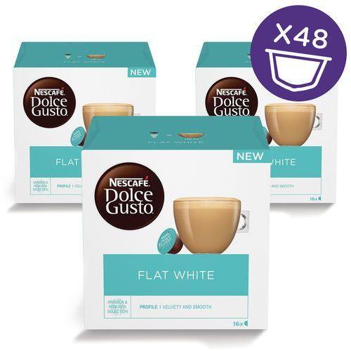 kapsułki dolce gusto flat white, 3 zestawy marki NescafÉ