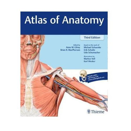 Atlas of Anatomy (9781626232525)