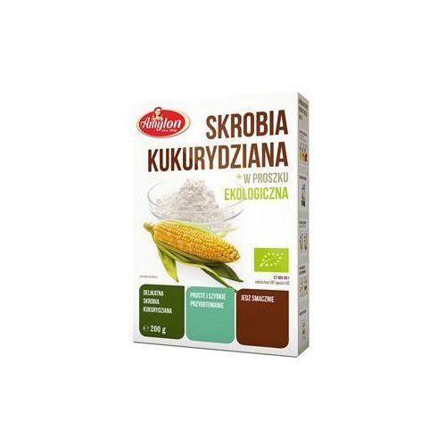 Bio raj Przecena skrobia kukurydziana bio 200 g amylon