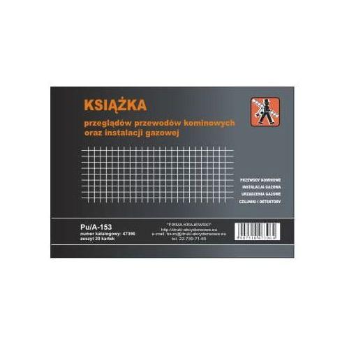 Firma krajewski Książka przeglądów przewodów kominowych oraz instalacji gazowych [pu/a-153] (5907510473964)