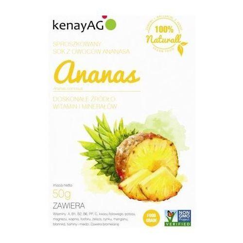 Ananas sproszkowany sok 50g marki Kenay ag