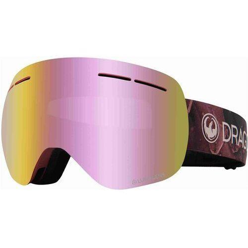 gogle snowboardowe DRAGON - Dr X1S Bonus Rose Llpinkion+Llrose (651) rozmiar: OS