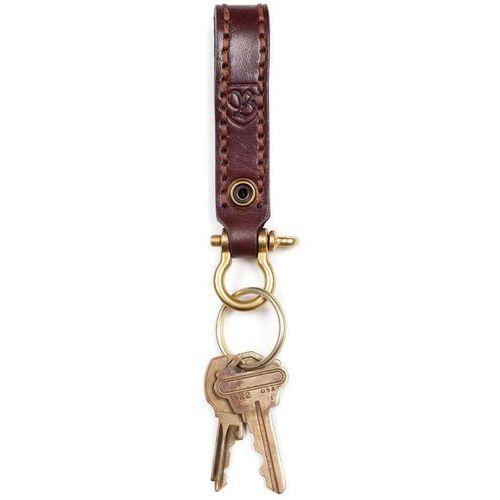 Brelok na klucze - burnside key chain brown (brown) rozmiar: os marki Brixton
