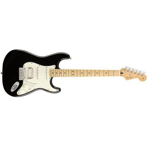 Fender player stratocaster hss mn black gitara elektryczna