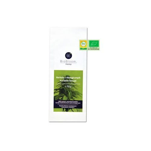 Herbata konopna BioBloom - herbata z kwiatów konopi, 90D8-109CE