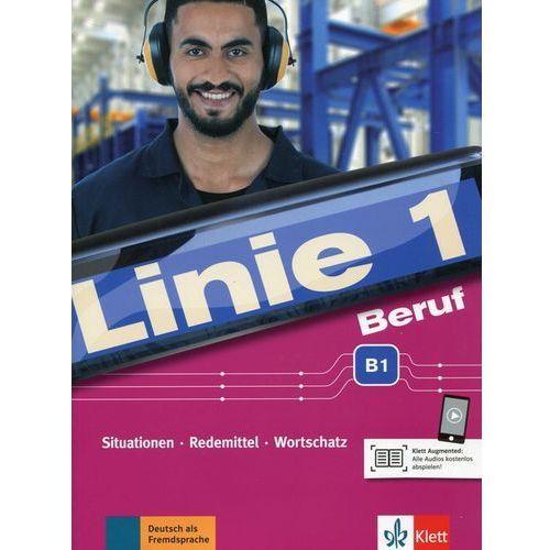 Linie 1 Beruf B1 Kurs- und Ubungsbuch mit Audios (96 str.)