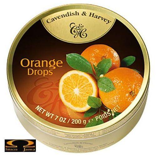 Landrynki o smaku pomarańczowym 200g marki Cavendish & harvey