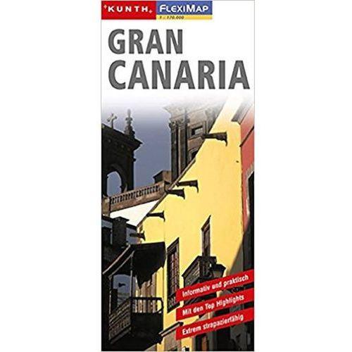 Gran Canaria/Fleximap 1:170T KUN neuveden