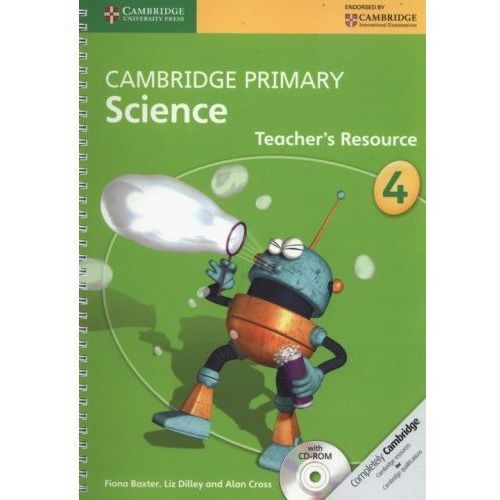 Cambridge Primary Science Stage 4 Teacher's Resource Book With Cd-rom, oprawa miękka