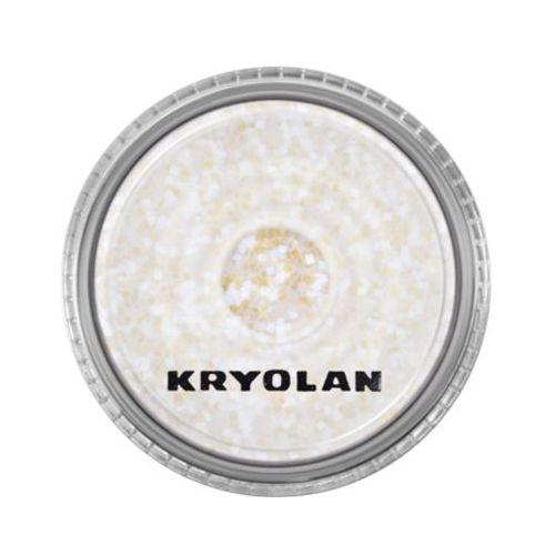 Kryolan POLYESTER GLIMMER COARSE (PEARL LILAC) Gruby sypki brokat - PEARL LILAC (2901)