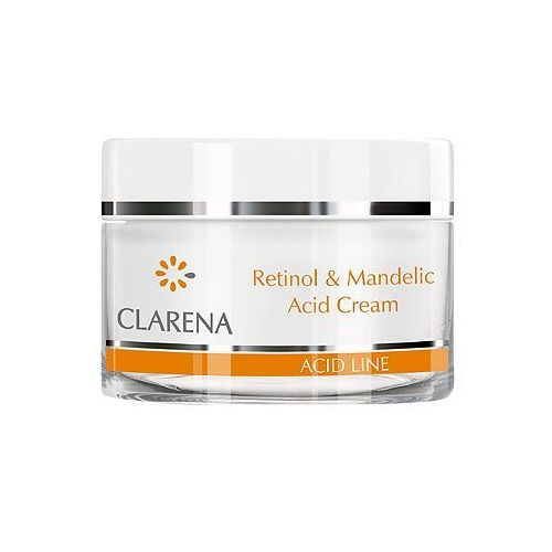Clarena retinol & mandelic acid cream - z kwasem migdałowym i retinolem