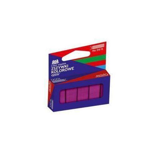 Grand Zszywki kolorowe 24/6 czerwone (5903364265960)