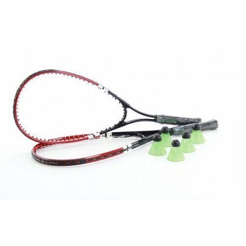 SPEED BADMINTON szybki badminton zestaw: 2 rakiety 5 lotek i torba